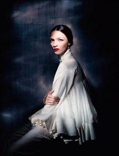 Vogue Italia  'Couture Allure' March 2013 | Mariacarla Boscono, Guinevere Van Seenus & Malgosia Bela | Paolo Roversi