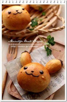 Kawaii Picachiu bread