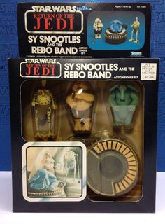 Kenner Star Wars Sy Snootles and the Rebo Band