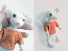 Игрушки из шерсти шерсть, войлок, рукоделие, валяние, валяние фелтинг, мышь, Снегирь, Ослик, длиннопост
