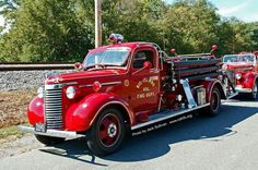1000+ images about Old Fire Trucks on Pinterest