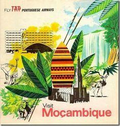 TAP - Mozambique Restos de Colecção: Aviação