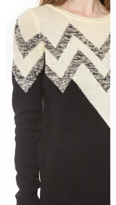 Chic chevron #sweater