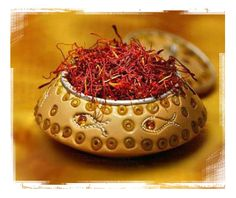 Saffron, a perk to being Persian... cheap saffron!
