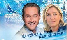 Strache und Le Pen: Rendezvous in Österreich  Gipfel der Rechten in Vösendorf