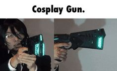 Never seen a cosplay gun like this before.. had to take alot of work to do....crazy