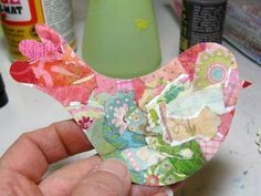 """Mod Podge Monday: Mixed-Media Tutorial """"Freedom"""", Bird in Cage - A Creative Life"""