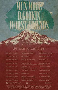 Moodgadget Synchronicity Suite Tour poster