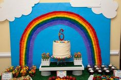 More Rainbow Party Ideas