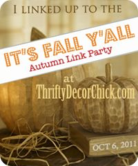 This is a cute link with lots of ideas to craft and decorate for Fall..