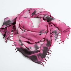 Bambi ShibTie scarf by NEPALI by TDM Design  - 100% bamboo fiber, hand-made in Nepal, Azo-free dyes.  $105