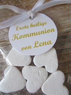 Gastgeschenk Kommunion♥ von ♥-A-TAG ! auf DaWanda.com