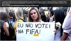 Protestos na Copa das Confederações