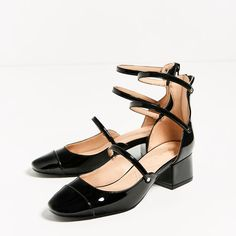 Image 3 of STRAPPY HEELED SHOES from Zara