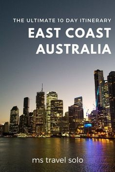 How to Spend 10 days in East Coast Australia Are you going to Australia for the first time? Learn how you can see the best of east coast Australia in [& Brisbane, Sydney, Melbourne, Coast Australia, Visit Australia, Western Australia, Australia Facts, Australia Holidays, Australia Funny