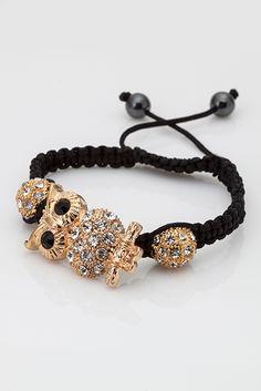 Appealing Owlet Shamballa Bracelet £5