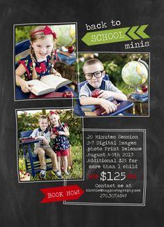 Back to School Mini Sessions ~ Elizabethtown, KY Photography » kngphotography.com