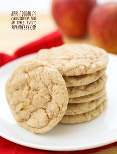 Pip & Ebby - Pip-Ebby - Appledoodles (Snickerdoodle Cookies with an Apple Twist)