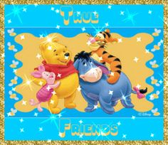 glitter graphics winnie the pooh and friends | Glitter Text ...