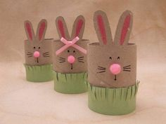 51 Easter Crafts for Kids Bunny Crafts, Easter Crafts For Kids, Craft Kids, Easter Ideas, Spring Crafts, Holiday Crafts, Toilet Paper Roll Crafts, Easter Art, Easter Bunny