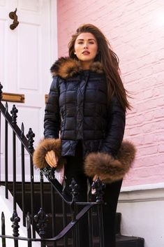 Cold Weather, Fur Coat, Winter Jackets, Warm, Fashion, Winter Coats, Moda, Winter Vest Outfits, Fashion Styles