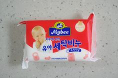 Mybee Hypoallergenic Baby & Toddler Dedicated Laundry Soap Bar 200g 1,2,4ea #Mybee