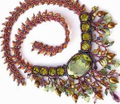 Amber Twilight Necklace by Cielo Design, via Flickr