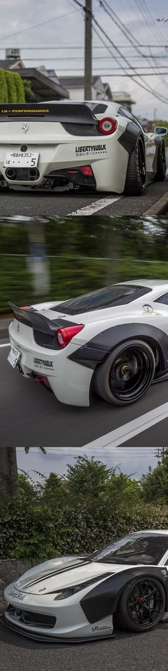 Awesome Cars '' Liberty Walk Ferrari 458 Italia '' Cars Design And Concepts, Best Of New Cars