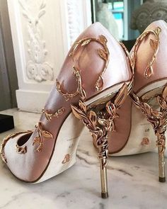 Ralph and Russo Haute Couture Spring 2016 - Garden of Eden Shoes