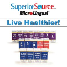 With over 50 ‪#UnderTheTongue‬ ‪#Vitamins from #SuperiorSourceVitamins‬, getting ‪#Healthy‬ has never been easier.