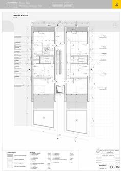 Architecture Symbols, Revit Architecture, Architecture Drawings, School Architecture, Architecture Details, My Home Design, Plan Design, Title Block, Presentation Techniques