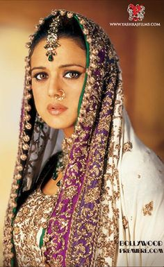 Preity Zinta in Veer Zaara {2005} Lovely Bridal wear
