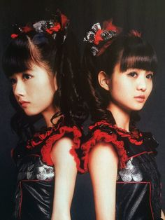Don't get me wrong, Su is my queen, but honestly. BLACK BABYMETAL IS THE SHIT. ALL HAIL CO-HEAD-VICE-QUEENS YUI AND MOA!