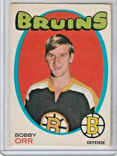 1971 Topps Bobby Orr Hockey Card for sale online Pens Hockey, Hockey Cards, Ice Hockey, Hockey Stuff, Baseball Cards, Nhl Highlights, Bobby Orr, Boston Bruins Hockey, State Champs