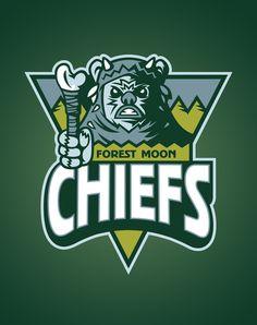 Star Wars sports logo