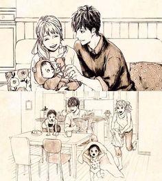 Orange If Naho and Kakeru ended up together.