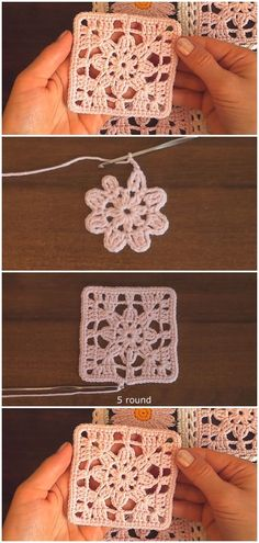 Crochet Easy Lace Motif Granny Square Easy Free Sunburst Granny Square Crochet Pattern Crochet Easy Flower Motif Crochet Granny Square Dishcloth – Yarn & Hooks Double A Design Granny Square Blanket Crochet Free Pattern Crochet Motifs, Crochet Blocks, Granny Square Crochet Pattern, Crochet Squares, Crochet Shawl, Crochet Stitches, Crochet Simple, Crochet Diy, Crochet Crafts