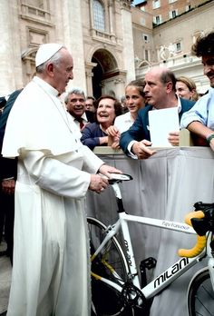 Cycling the Pope Francis Pro Cycling Team