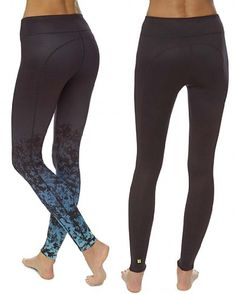 Chandrasana Reversible Leggings - blue | leggings | Sweaty Betty