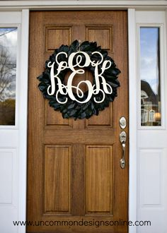 Crafting Monograms from Southern Nest - Uncommon Designs...
