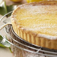 Try our creamy lemon tart recipe for a delicious and indulgent dessert your tastebuds are sure to remember. Tart Recipes, Sweet Recipes, Cooking Recipes, Gf Recipes, Lemon Recipes, What's Cooking, Family Recipes, Cheesecake Recipes, Recipies