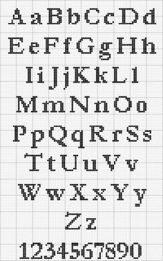 If you are trying to find some great cross stitch fonts concepts, this is the web page you should discover how to make your own audacious sewed expressions. Cross Stitch Letter Patterns, Cross Stitch Letters, Cross Stitch Charts, Cross Stitch Designs, Cross Stitch Font, Cross Stitch Angels, Cross Stitch Numbers, Cross Stitch Freebies, Cross Stitching