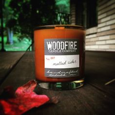 Woodfire Candle Company in Campfire