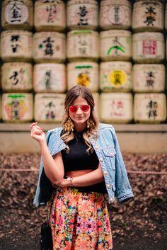 Meu look – Santuario Meiji!