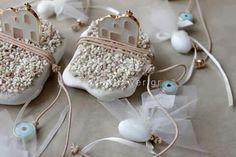 Μπομπονιερες για βάπτιση Weddings, Christmas Ornaments, Holiday Decor, Wedding, Christmas Jewelry, Christmas Decorations, Marriage, Christmas Decor