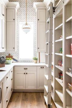 The Best Farmhouse Pantry Inspiration - A huge collection of beautifully organized farmhouse pantries that are classic yet completely on-trend with modern farmhouse touches. #pantry #farmhousepantry #organizedpantry #butlerspantry #kitchenpantry #modernfarmhouse #farmhouse #whitefarmhouse #classicfarmhouse #farmhousedecor #neutralfarmhouse #farmhousestyle #vintagefarmhouse #fixerupperstyle #farmhouseinspired #farmhousedesign #farmhouseliving #rusticfarmhouse #cottagestyle # #farmhouseliving