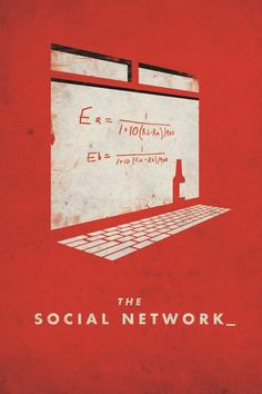 The Social Network (2010) #socialnetwork #thesocialnetwork #movieposters #posters #minimalmovieposters #posterdesign #2010 #2010movies
