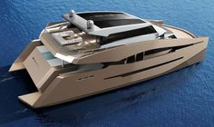 90 Sunreef Power by Sunreef Yachts - short listed for the Concept Design up to 30 metres Award in the International Yacht and Aviation Awards 2013...