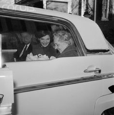 Bringing home John Jr. from the hospital c. 1960