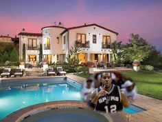 NBA Homes: LaMarcus Aldridge's House in Newport Coast (Pictures) - Basketball Bicker – San Antonio Spurs star LaMarcus Aldridge's Newport Coast, home came at a $7-million price tag. It includes four bedrooms and six bathrooms. (Pictures)